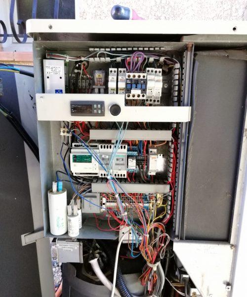 Coffret électrique Pompe à chaleur
